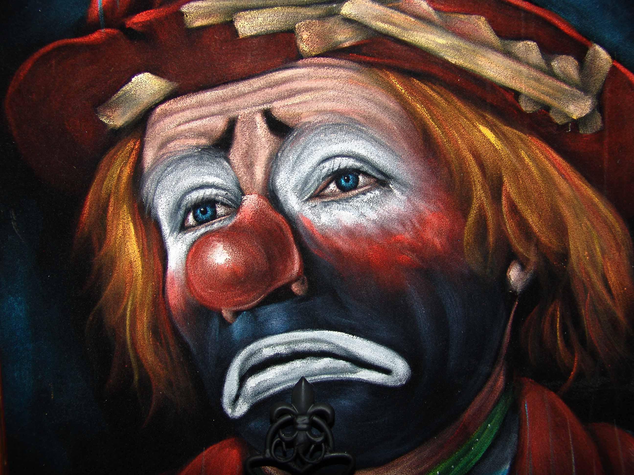 фотоателье картинка клоун грустный расскажу вам