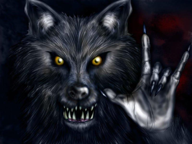Волки картинки оборотни