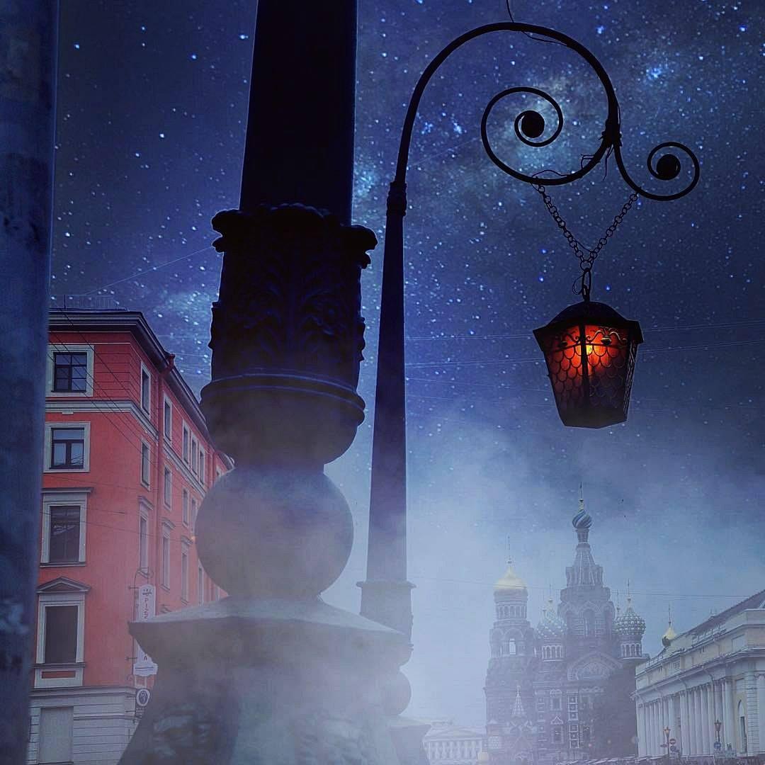 обзора картинки петербург при свете фонарей пай, наверное, одна