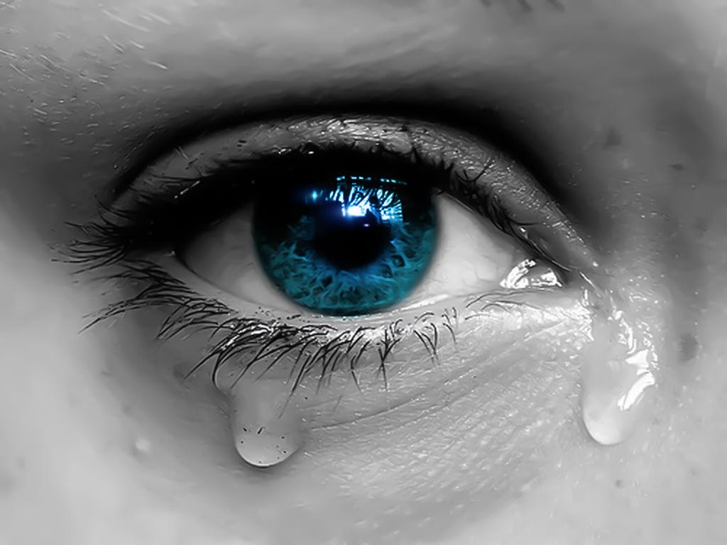 Красивая слеза картинка
