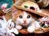 котенок в шляпе Подарок от автора Ирина Луцкая