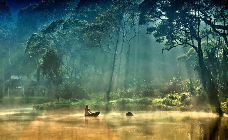 В стране покоя - мир реки...