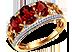 Золотое кольцо с рубинами Подарок от автора Александр О. (Актёр)