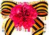 Георгиевская лента с цветком Подарок от автора Аглая Конрада