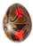 Яйцо узорное чёрно-красное Подарок от автора Людмила Кузнецова