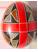 Яйцо чёрно-красное с крестом Подарок от автора Босс Ольга Львовна