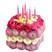 Цветочный торт Подарок от автора Кармик Ася